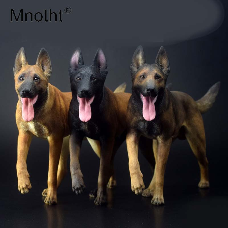 pre order mnotht 1 6 scale belgian malinois model working dog dog animal statue scene for 12in action figure collections toy