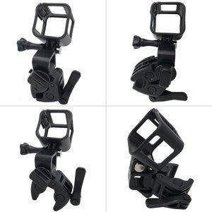Image 5 - Gun Angelrute Bogen Pfeil Clamp für XIAOMI Mijia Panorama 360 Mi Kugel Camcorder/Mijia Mini 4 Karat Action kamera