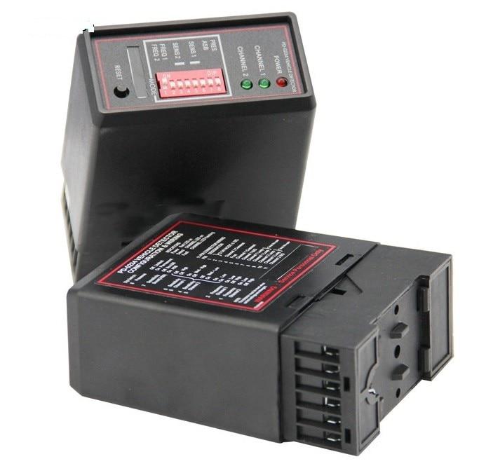 ФОТО Dual weg Fahrzeug Sensoren  schleifendetektor mit doppel kanale fahrzeug induktive schleifendetektor parking  system PD232