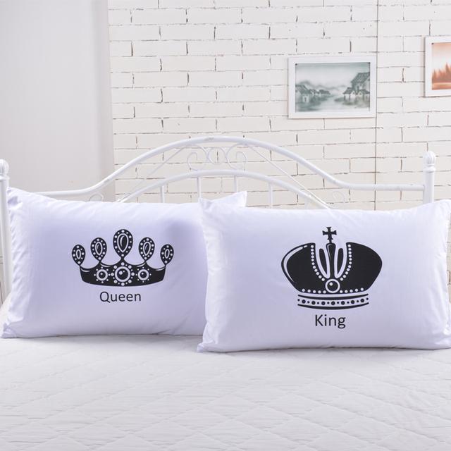 2pcs/lot royal series pillowcases 48*74cm 50*70cm hotel/bedding pillow Sham single white Pillow cover