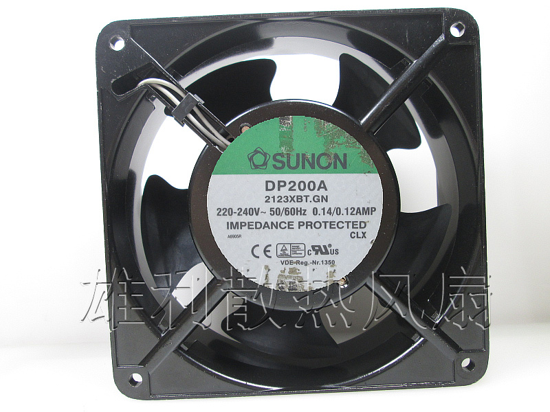 Free Delivery.DP200A 2123XBT.GN AC220V 120 * 120 * 38 cabinet AC fan