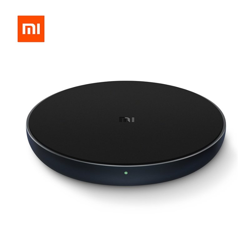 Original Xiaomi Qi Wireless Charger 10W Max Fast Wireless Charging Pad for iPhone X XR 8  Samsung S9/S9+ S8 Note 9(China)