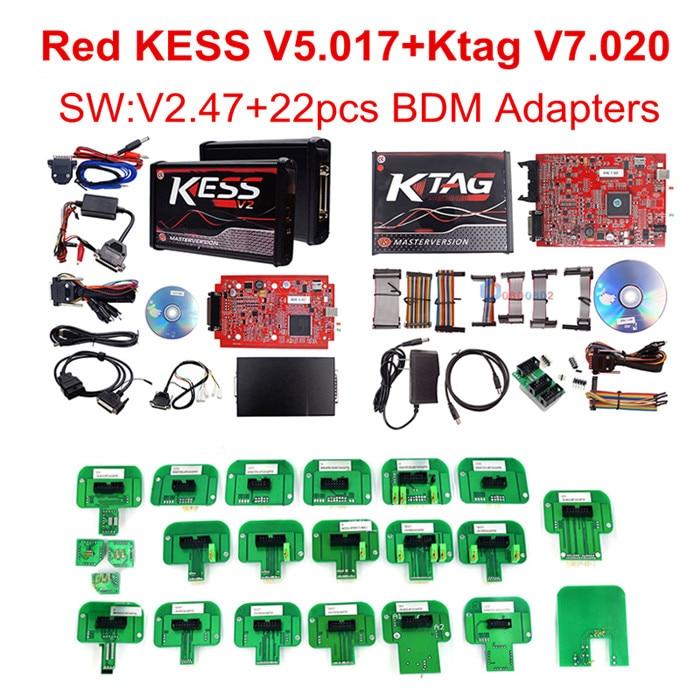 KESS KTAG 22PCS BDM