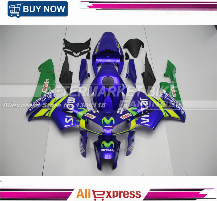 Injection Moulding ABS Plastic OEM Fitment CBR600RR 2005 06 Fairings For Honda  MOVISTAR high quality custom injection mold abs plastic injection moulding