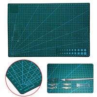 1pc Eco Friendly PVC A3 Cutting Mat Mayitr Green Double-sided Self Healing Cutting Pad for DIY Patchwork Fabric Paper 45*30cm