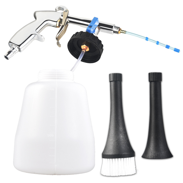 High Pressure Car Wash for Tornador Portable Interior Deep Cleaning Gun Washer Cockpit Care With Brush Air Operated