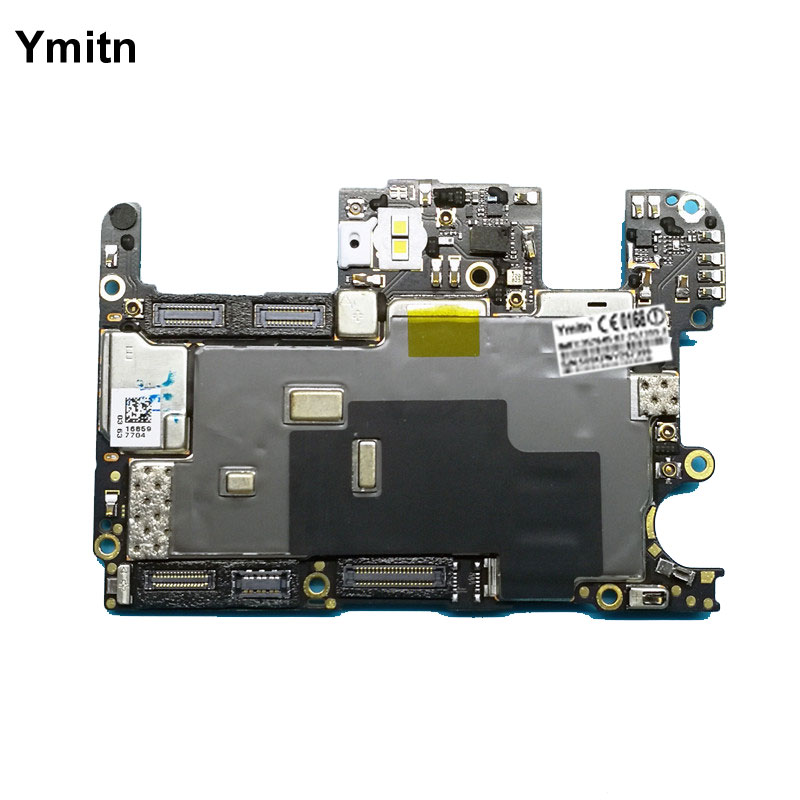 Ymitn Unlocked Main Board Mainboard Motherboard With Chips Circuits Flex Cable Logic Board For OnePlus 5 OnePlus5 A5000 64GB