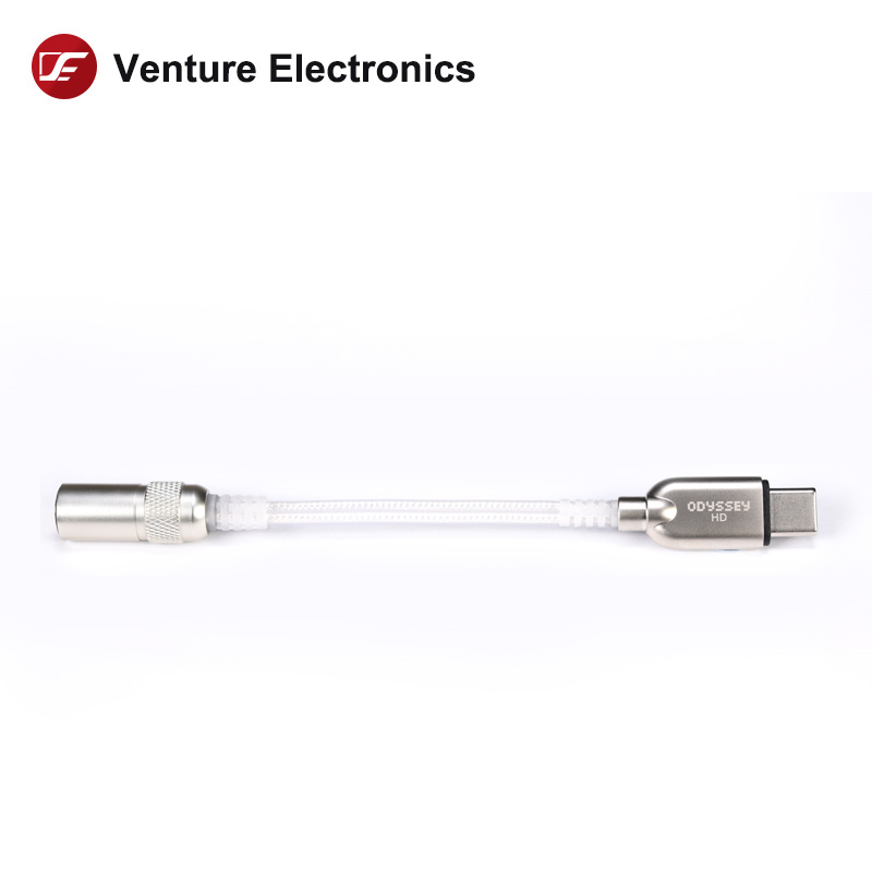 Venture electronics odyssey hd tipo-c a 3.5mm dac dongle