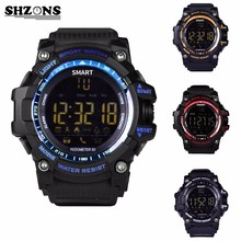 EX16 Professional Waterproof Sports Smart Watch with Pedometer Distance Counter 50M Waterproof Smartwatch for iOS and Android
