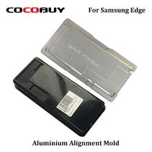 A+ 1 Set Precision Aluminium Alignment Mold and Lamination Mould For Samsung Note 8 S8 Plus Laminator Refurbishment
