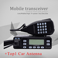 LEIXEN 25W UV-25HX Mini Mobile Radio Dual band 136-174/400-480MHz Transceiver KT-8900 best black walkie talkie for car bus