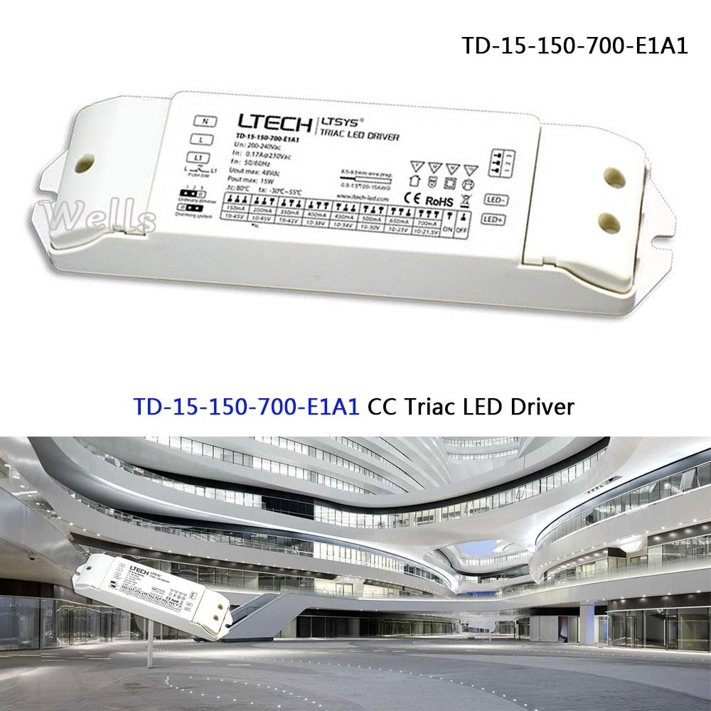 Neue Intelligente Led-treiber Td-150-24-e1m1; 150 Watt 24vdc 6.25a Konstante Spannung Triac Dimmbare Led-treiber Licht & Beleuchtung