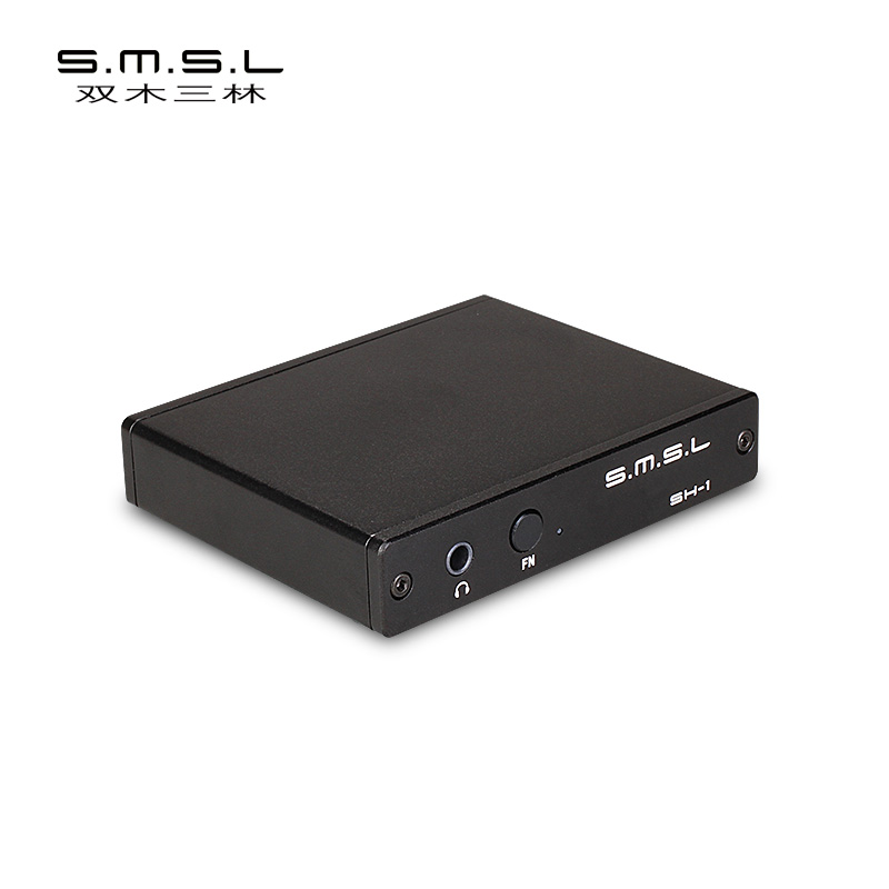 SMSL SH-1 HDMI Audio Extractor HDMI To HDMI Optical/3.5mm Stereo Analog Audio Converter Separator Support HD Signal Format 4k*2k cy hd 165 hdmi 1 3 to hdmi 1 4 4k x 2k amplifier black