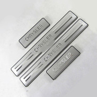 Auto Parts Stainless Steel Scuff Plate Door Sill Fit For 2011 2015 Chrysler 300C Car Styling