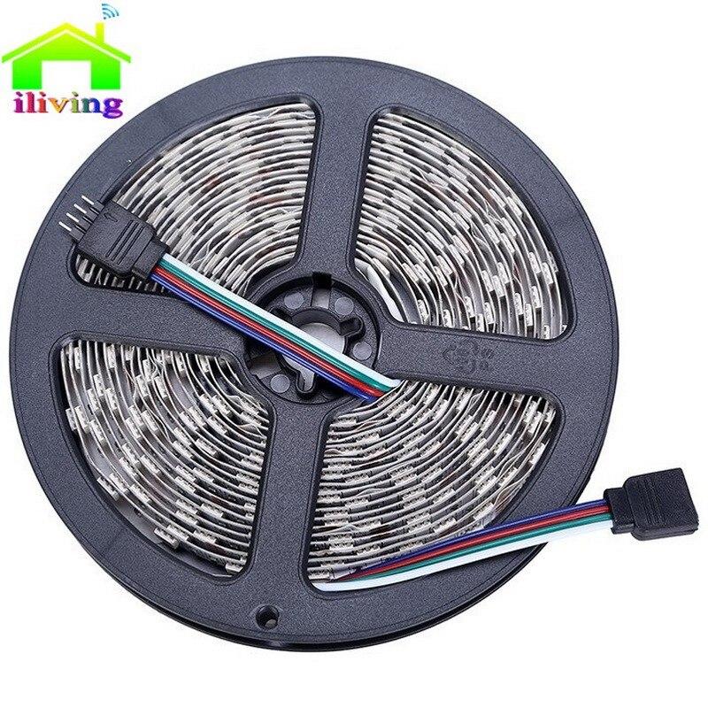 5M SMD3528 12V Non Waterproof LED Strip Light Kitchen