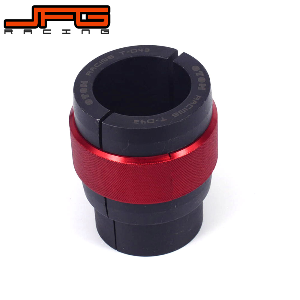 CNC Universal 43MM Front Driver Shock Absorber Oil Seals Frok Tooling For KTM YAMAHA KAWASAKI SUZUKI HONDA Drit Bike Motorcycle keoghs motorcycle front shock absorber clamp fender bracket for honda yamaha kawasaki suzuki scooter dirt bike refit modify
