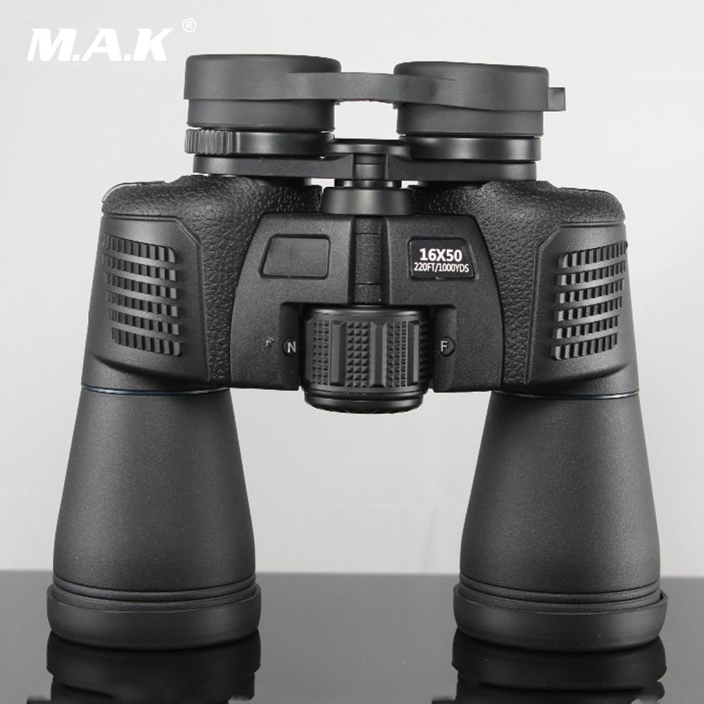 12x45/16x50 Waterproof Telescope HD Binocular Green Film Non-infrared Night Vision Optical Binoculars for Camping/Hunting vda fairy telescope hd mini waterproof glasses binoculars infrared night vision 1000 wyj