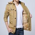 Plus Size New 2017 Autumn Winter Jacket Men Warm Down Jacket Men Outerwear Zippers Down Solid  Coat  5XL MSJ082