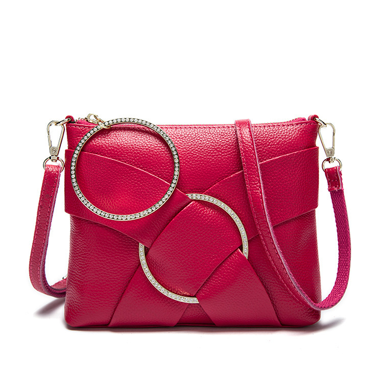 2017 Spring Genuine Leather Women S Messenger Bag One Shoulder Cross Body Bag Ladies Small Envelope