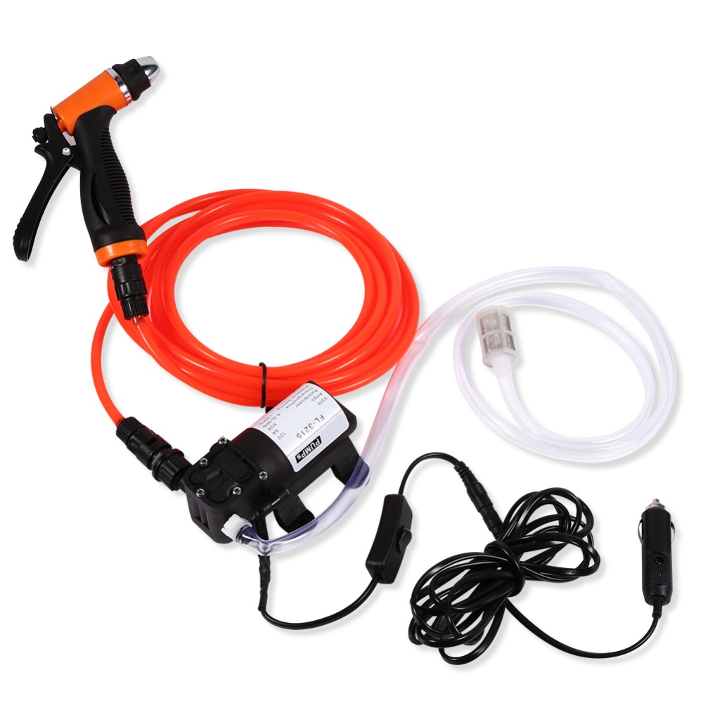 DC12V 6A 80W  Portable Electrical Wash Pump High Pressure Self-priming Quick Car Cleaning Water Pump Electrical Washer KitDC12V 6A 80W  Portable Electrical Wash Pump High Pressure Self-priming Quick Car Cleaning Water Pump Electrical Washer Kit