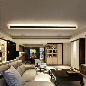 Image 3 - 220V פשוט מודרני LED תקרת מנורת מינימליזם תקרת אורות Creative סלון מסדרון אולם LED מנורה