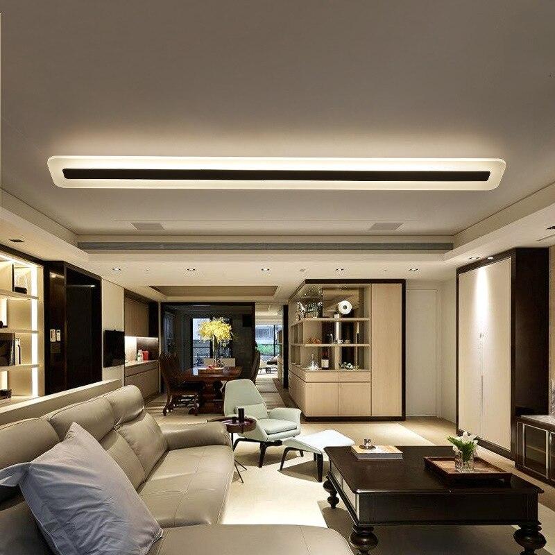 Image 3 - 220V Simple and modern LED ceiling lamp Minimalism ceiling lights  Creative living room corridor hall LED lamp-in Ceiling Lights from Lights & Lighting