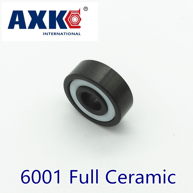 2018 Sale Rolamentos Axk 6001 Full Ceramic Bearing ( 1 Pc ) 12*28*8 Mm Si3n4 Material 6001ce All Silicon Nitride Ball Bearings цена
