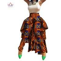 New Autumn African Wax Print Pants Dashiki Long Length Traditional Africa Clothing Bazin Plus Size Tuxedo Pants WY758