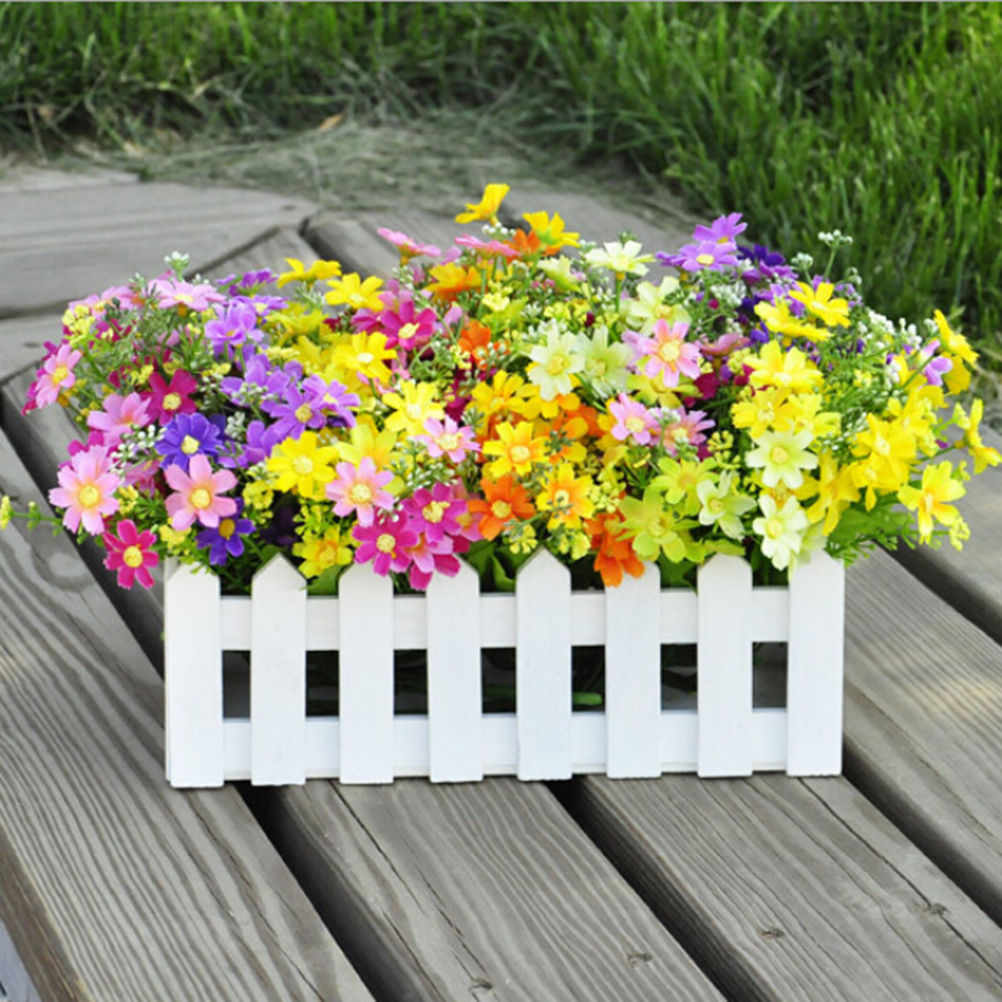 Real touch sunflowers reviews online shopping real touch silk artificial flowers for wedding home decoration 28 heads fake daisy cheap real touch flower plants grass without pots dhlflorist Images