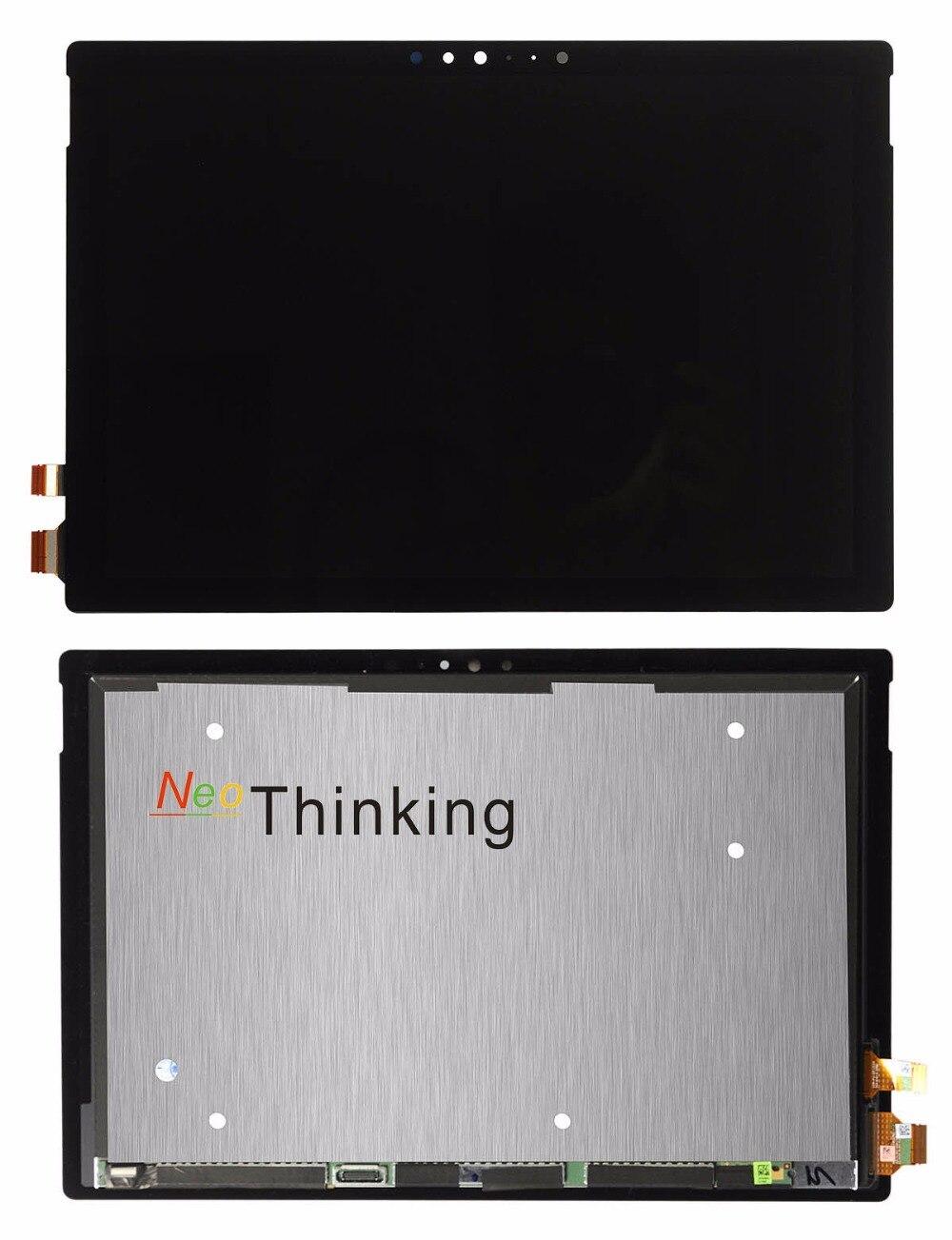 NeoThinking Lcd Assemblée Pour Microsoft Surface Pro 4 1724/Pour Microsoft Surface Pro 5 1796 Écran tactile Digitizer Remplacement