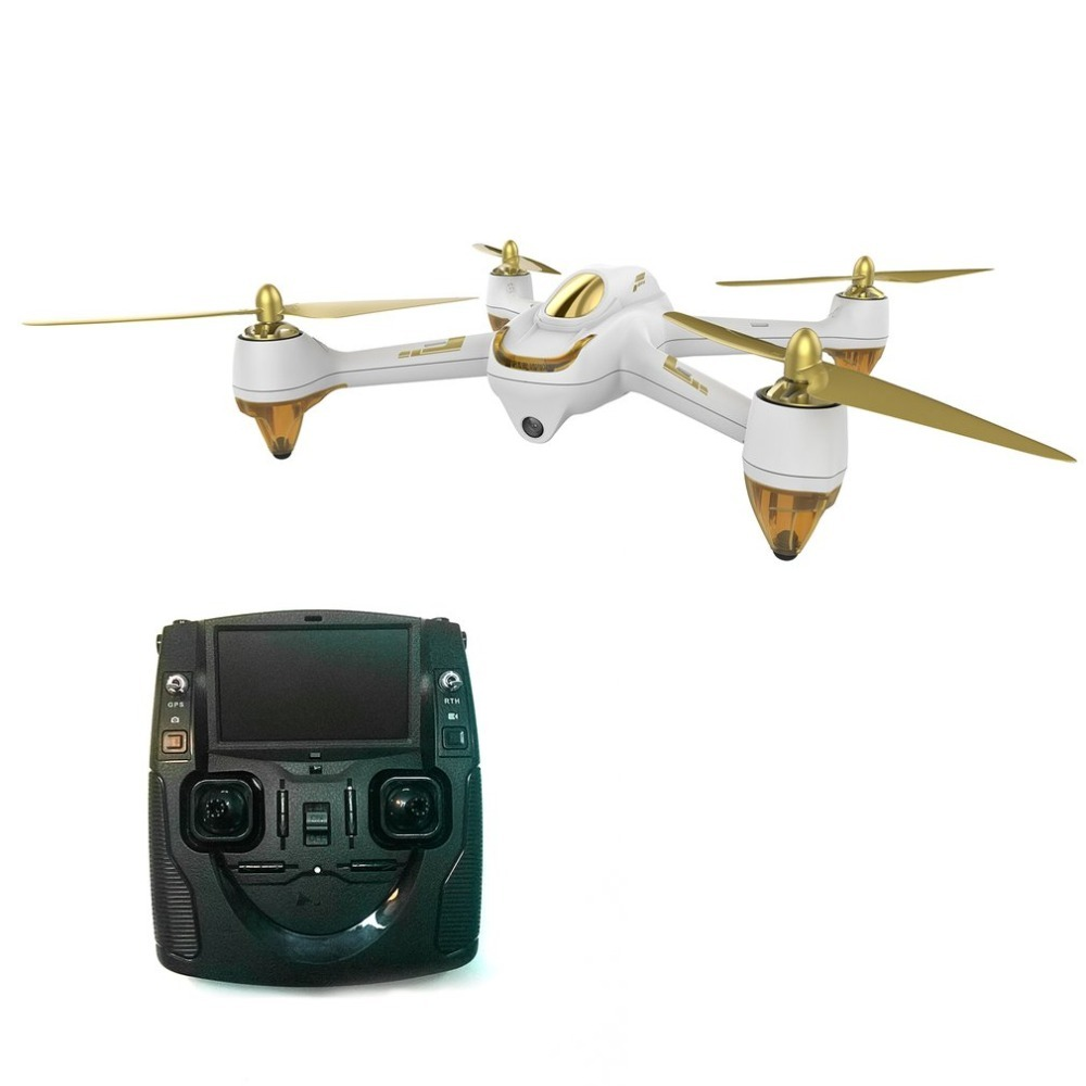 Hubsan H501S 5.8G FPV Brushless RC Helicopter 1080P HD Camera Drone Hold Automatic Return Headless Mode RC Quadcopter with GPS