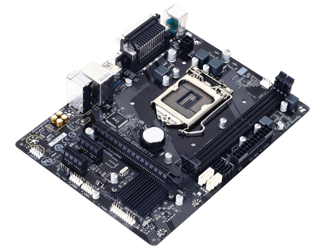 Gigabyte Gigabyte GA-H81M-DS2-C Motherboard gigabyte ga h81m s2pv rev 1 0