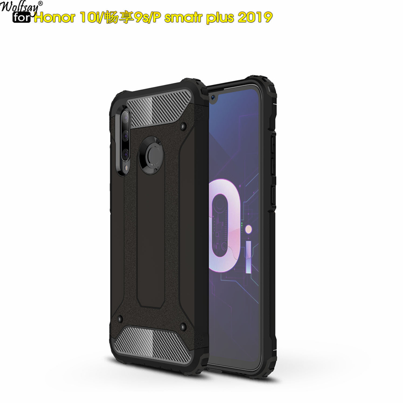 Wolfsay For Case Huawei Honor 10i Cover Durable Armor TPU & PC Case for Huawei Honor 10i Case Honor 10i HRY-LX1T Phone Fundas(China)