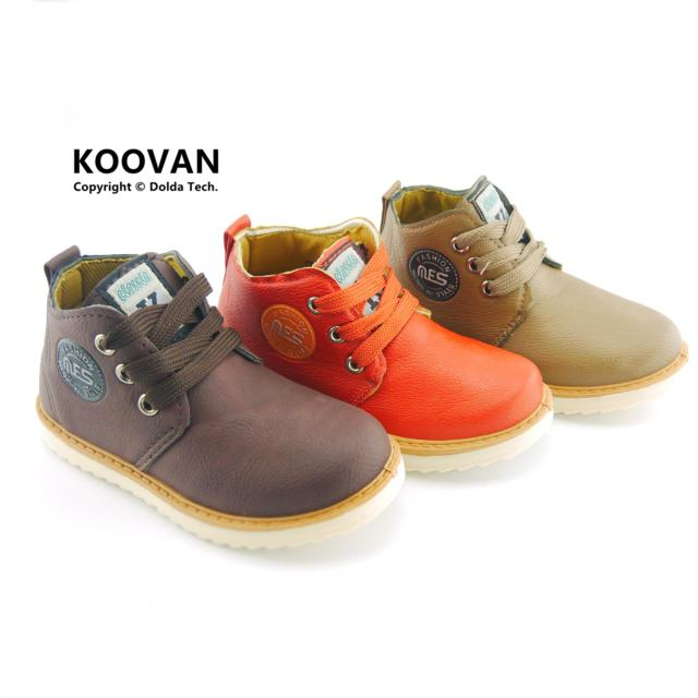 2016 New Coming Children Casual Baby Boys Girls Shoes Soft Bottom Boots Fashion Sneaker  Kids Leather Shoes  size 25-30 KX118