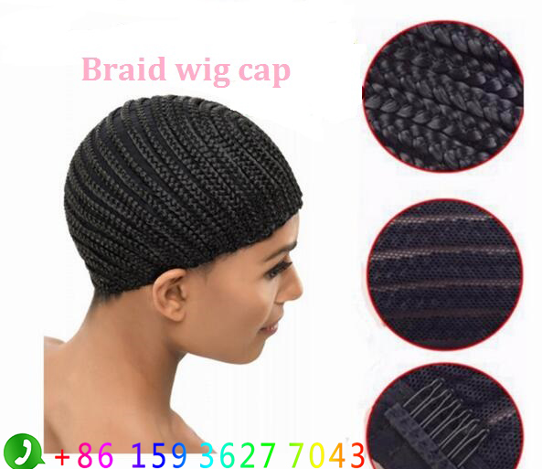 Crochet Braids On A Wig Cap : ... Wig Easier Sew Braided Wig Cornrows Cap Crochet Braids Caps Braid