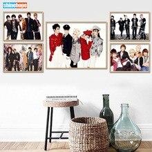 Canvas Poster No-Frame Custom Shinee Silk Home-Decor Print 27x40cm30x45cm Fabric
