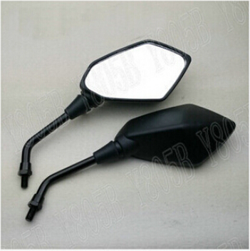 Motorcycle Black Rearview Mirrors For Yamaha YZF R1 R6 YZF FJR 1300 XJR 1300 V-MAX FZ6 FAZER FZ8 FZ1 FAZER XJ6 FZ1