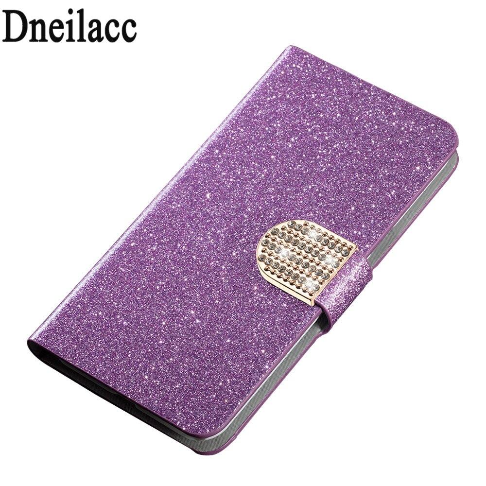 Estuche de cuero Dneilacc para estuche para teléfono Cubot Rainbow - Accesorios y repuestos para celulares - foto 3