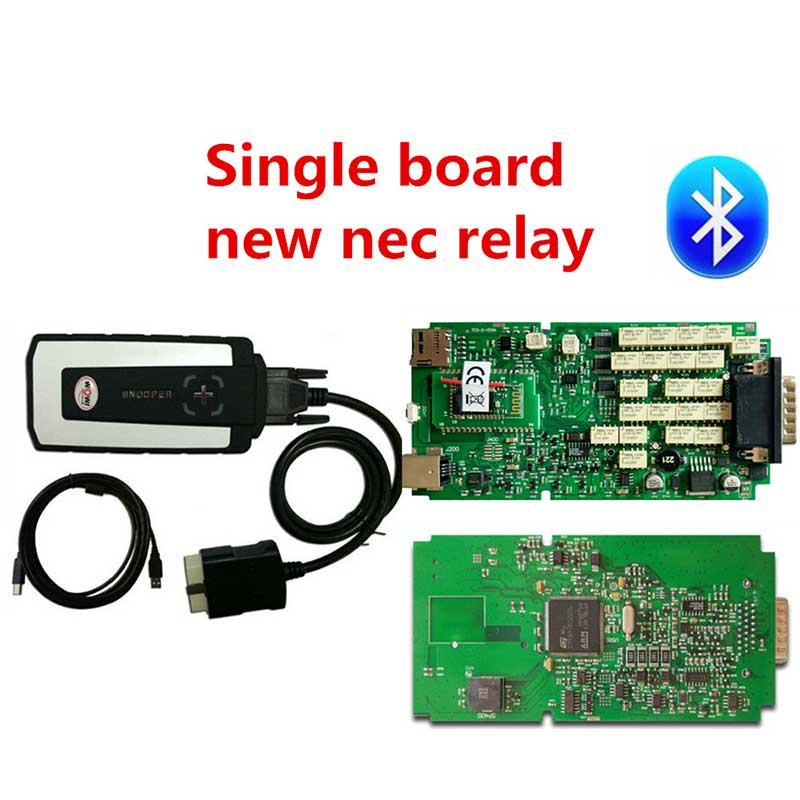 NEW best relay WOW CDP SNOOPER V5.008 R2 + keygen TCS CDP Pro Plus with Bluetooth USB as multidiag OBD for cars trucks Free ship