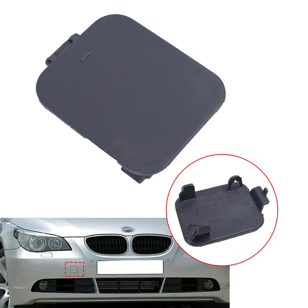 Front Bumper Tow Hook Cover Cap For 2008 2010 BMW E60 E61