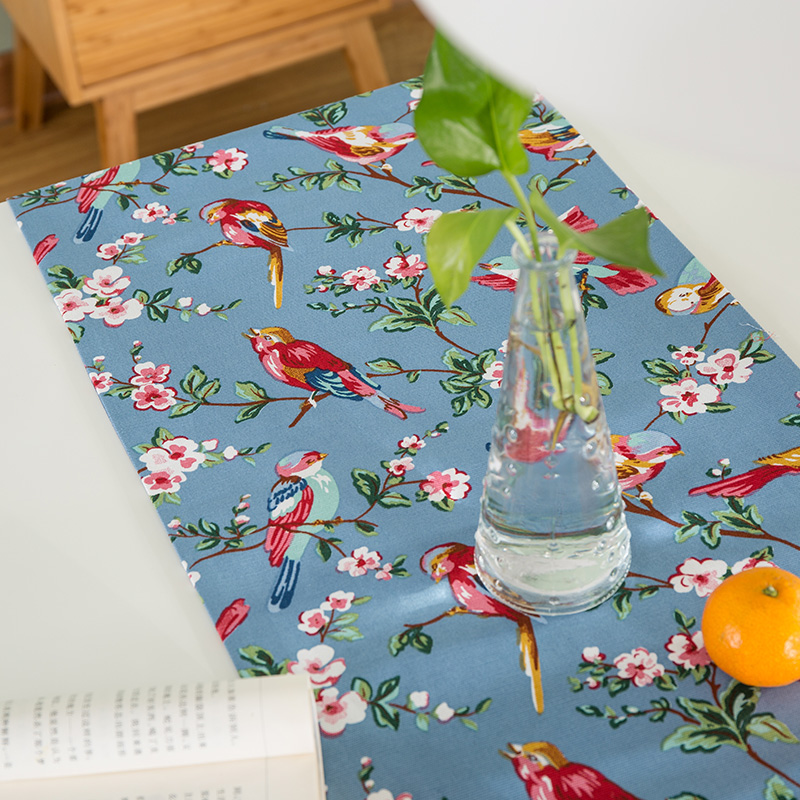 High Grade Home Table decor American style Flowers Ocean Scenic - Home Textile - Photo 3