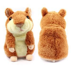 Toys & Hobbies Kind-Hearted New Russian Talking Hamster Wooddy Time Stuffed Animal Toys Speaking Kid Toy Repeat What U Said In Any Language Electronic Pets