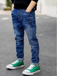 Liakhouskaya Kids Jeans Clothing Pants Trousers Teenagers New-Fashion Children Boys Casual
