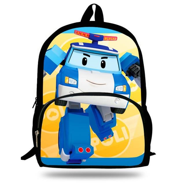 Schooltassen Boek 17Off Kinderen Inch Robocar Kids Tas Rugzak Poli Us15 27 Voor Tieners 16 Autobots Mochila Jongens In Cartoon zqSpMVUG