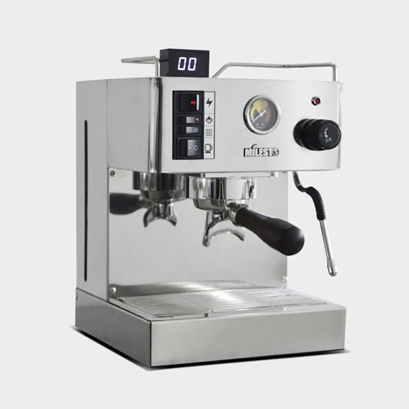Coffee Machine Italian 9 Bar Semi-automatic Milk Frother Coffee Maker Household  Espresso Coffee Machine Caferera EM-18