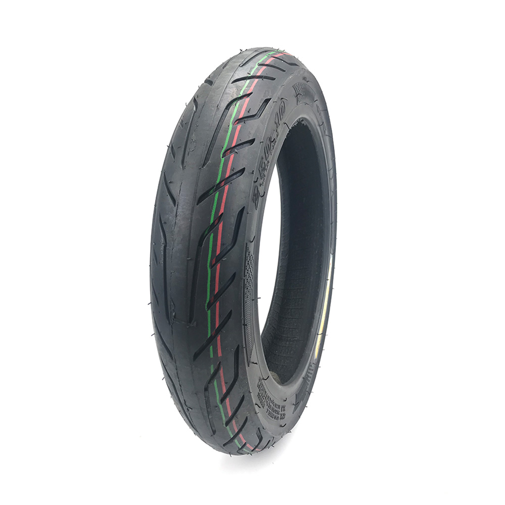 Scooter High Performance Durable Rubber Rear Wheel Tyre Motorcycle Tubeless Tyre 2.5*10 250-10 250 10 <font><b>Tire</b></font> image