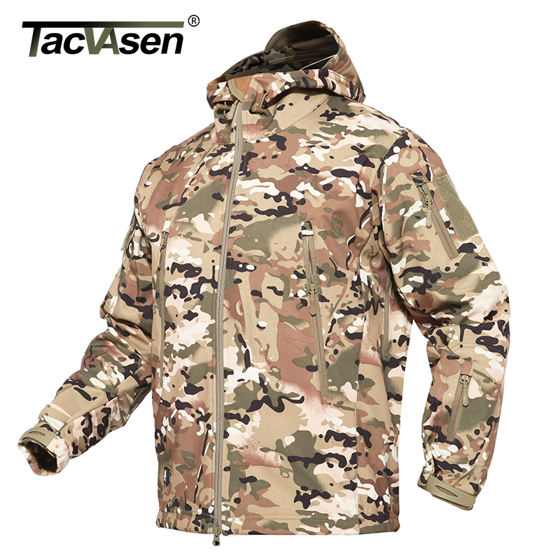 Soft sand Hommes Green Black gray army Imperméable Veste cp Manteau vent khaki acu Tacvasen Coupe Camouflage Militaire Shell Chasse Outwear De Tactique D'hiver Aq1WU8
