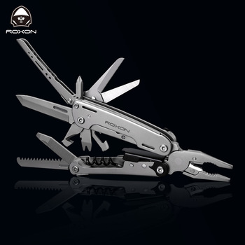 New Multitools Folding Plier EDC Scissors Camping Fishing Multi Tools Plier Screwdriver Bits Multifunctional Tool Knife Survival 1