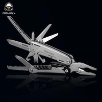 New Multitools Folding Plier EDC Scissors Camping Fishing Multi Tools Plier Screwdriver Bits Multifunctional Tool Knife Survival