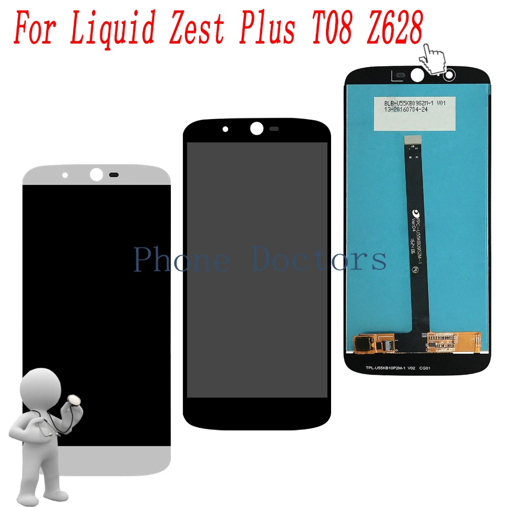 5.5 Full LCD DIsplay + Touch Screen Digitizer Assembly For Acer Liquid Zest Plus T08 Z628 100% Tested